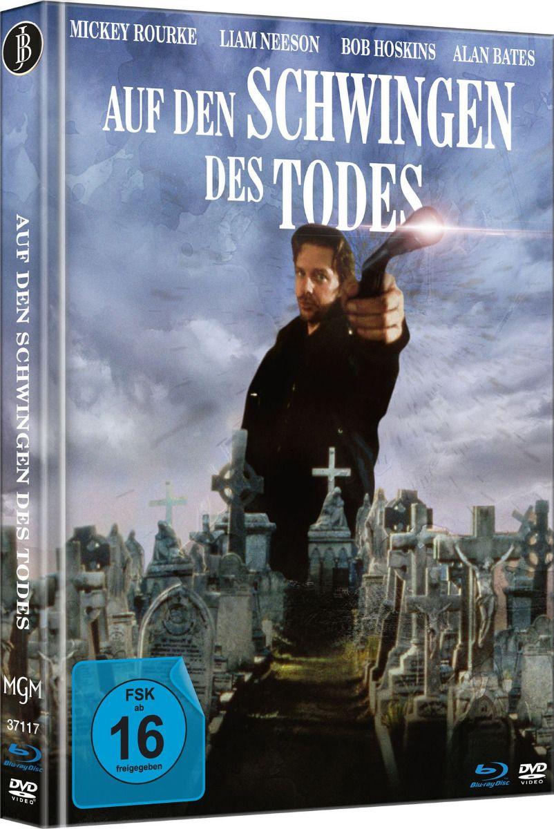 Auf den Schwingen des Todes (Lim. Uncut Mediabook - Cover B) (DVD + BLURAY)