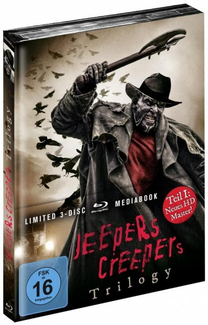 Jeepers Creepers Trilogy (Lim. Uncut Mediabook) (3 Discs) (BLURAY)