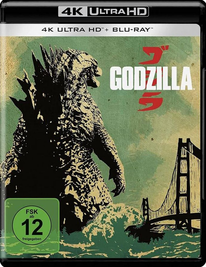 Godzilla (2014) (2 Discs) (UHD BLURAY + BLURAY)