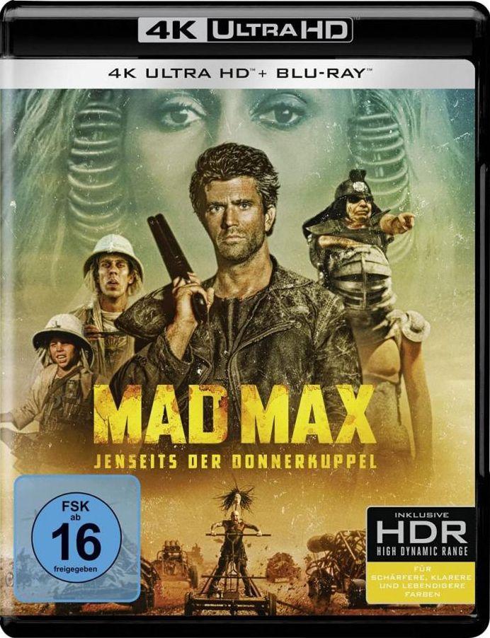 Mad Max - Jenseits der Donnerkuppel (2 Discs) (UHD BLURAY + BLURAY)