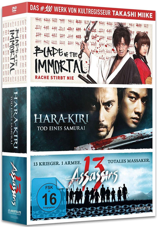 Blade of the Immortal / Hara-Kiri - Death of a Samurai / 13 Assassins (Takashi Miike Box) (3 Discs)