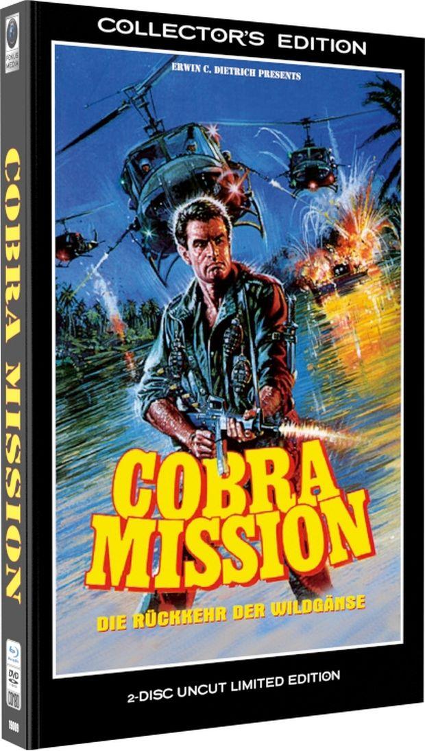 Cobra Mission - Die Rückkehr der Wildgänse (Lim. gr. Hartbox) (DVD + BLURAY)