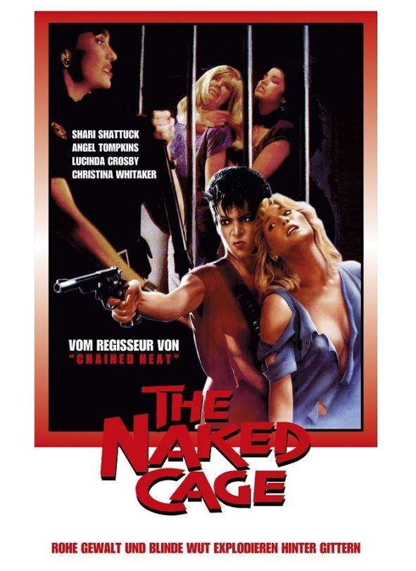 Naked Cage, The (Lim. Uncut Mediabook - Cover B) (DVD + BLURAY)