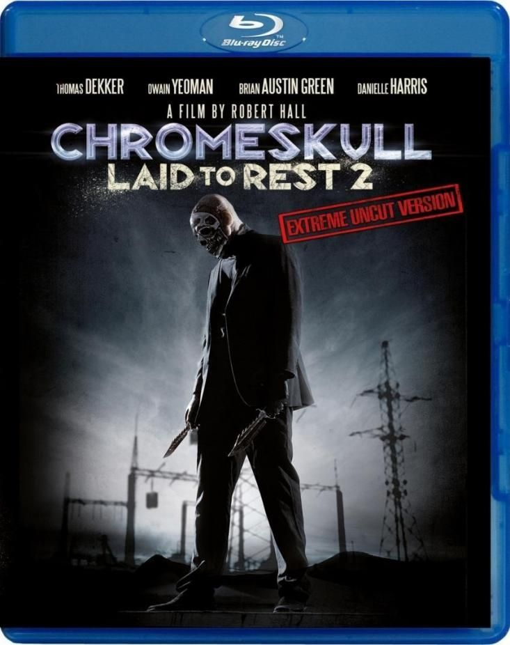 Chromeskull: Laid to Rest 2 (Extreme Uncut Edition) (BLURAY)