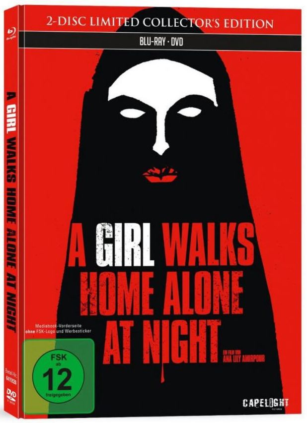 Girl Walks Home Alone at Night, A (Lim. Mediabook) (DVD + BLURAY)