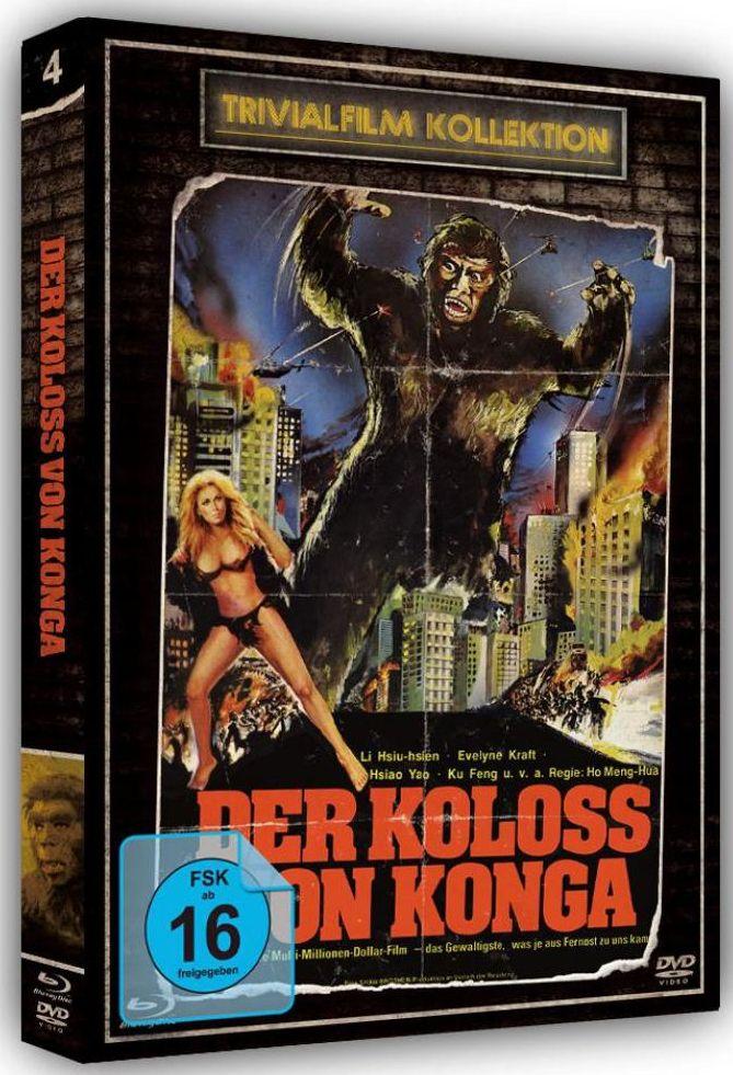 Koloss von Konga, Der (Lim. Uncut Ed.) (DVD + BLURAY)