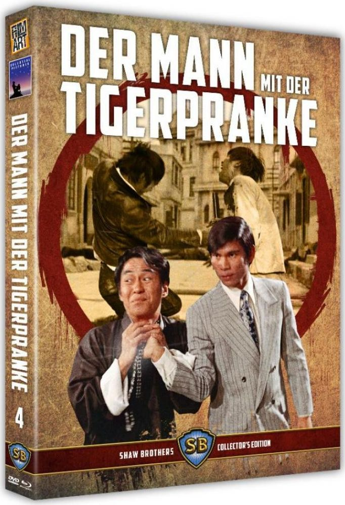 Mann mit der Tigerpranke, Der (Limited Uncut Edition) (DVD + BLURAY)