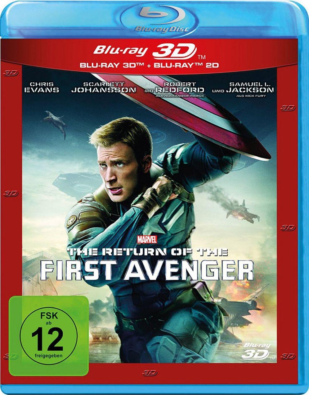 Return of the First Avenger, The 3D (BLURAY + BLURAY 3D)