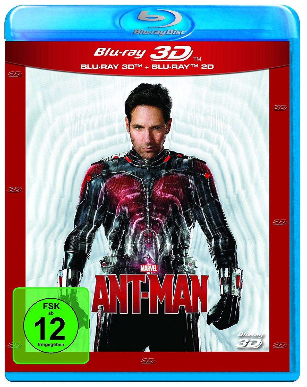 Ant-Man 3D (2 Discs) (BLURAY 3D + BLURAY)