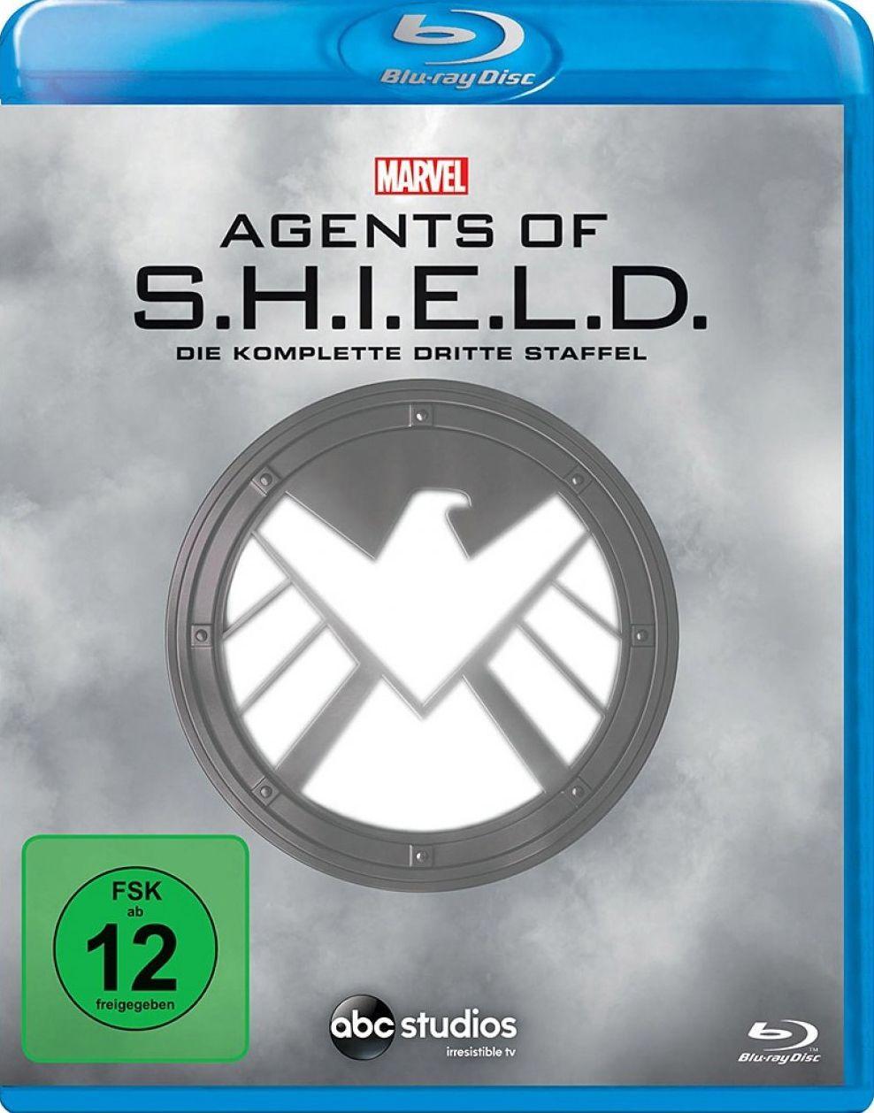 Marvel's Agents of S.H.I.E.L.D. - Die komplette dritte Staffel (6 Discs) (BLURAY)