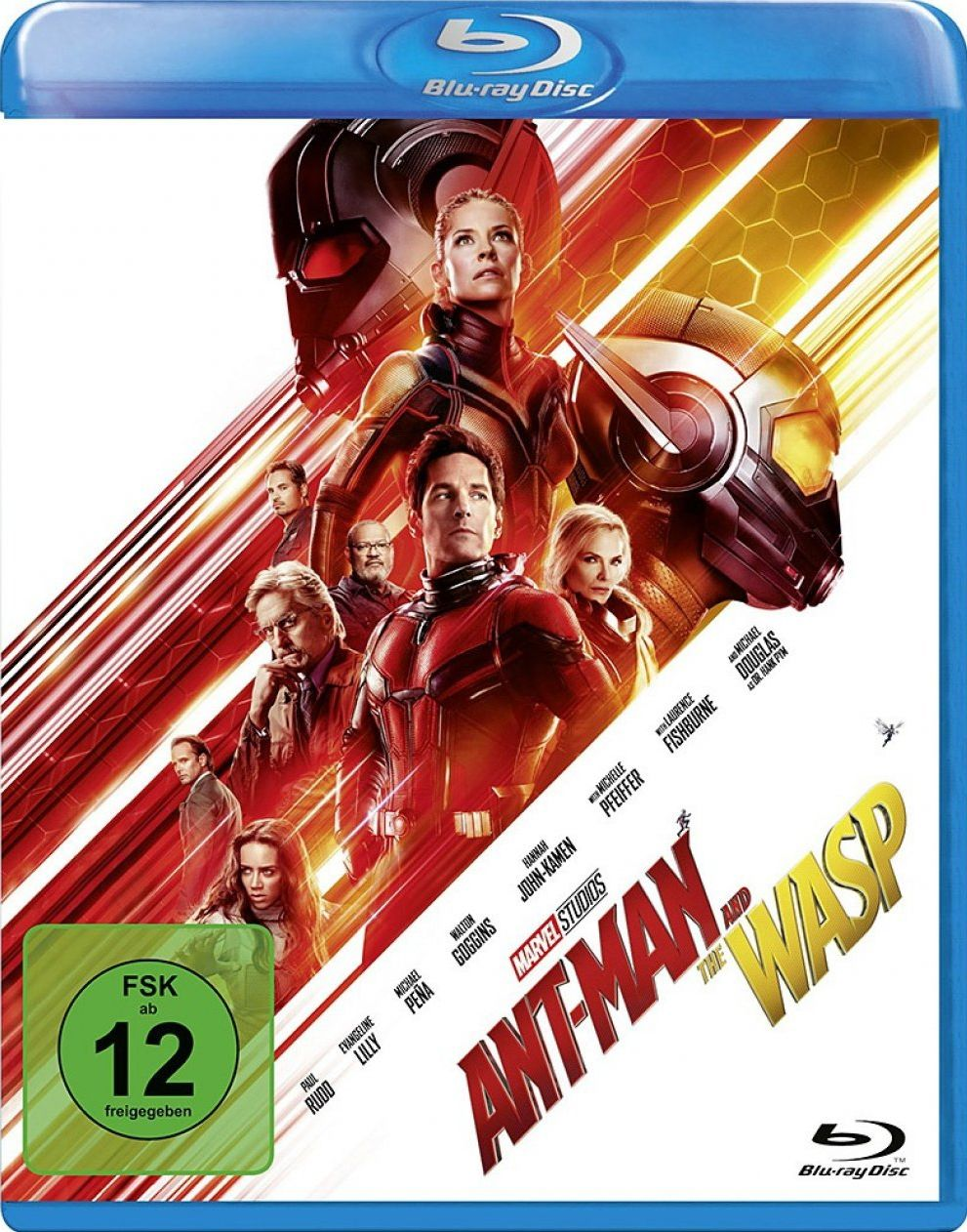 Ant-Man and the Wasp (BLURAY)