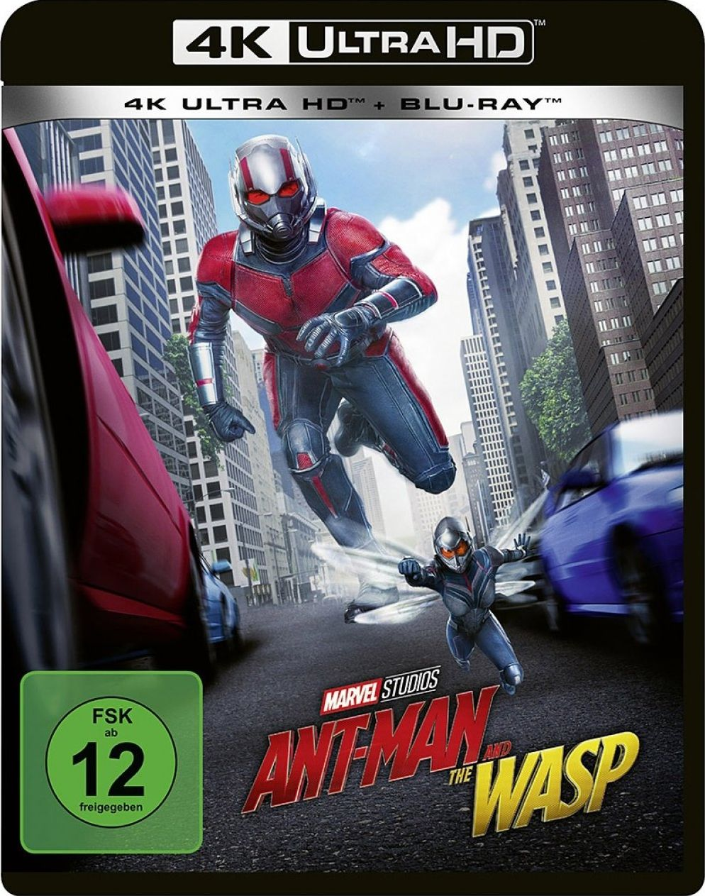 Ant-Man and the Wasp (2 Discs) (UHD BLURAY + BLURAY)