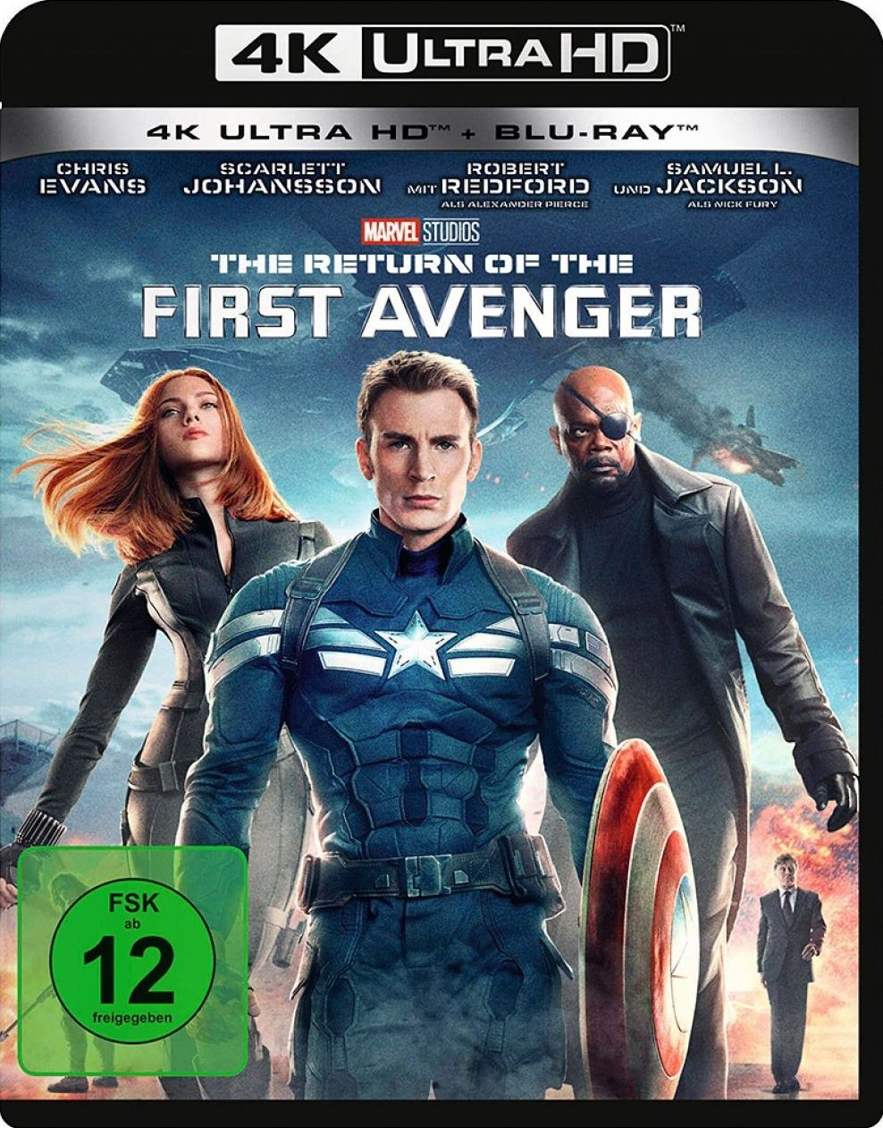 Return of the First Avenger, The (2 Discs) (UHD BLURAY + BLURAY)