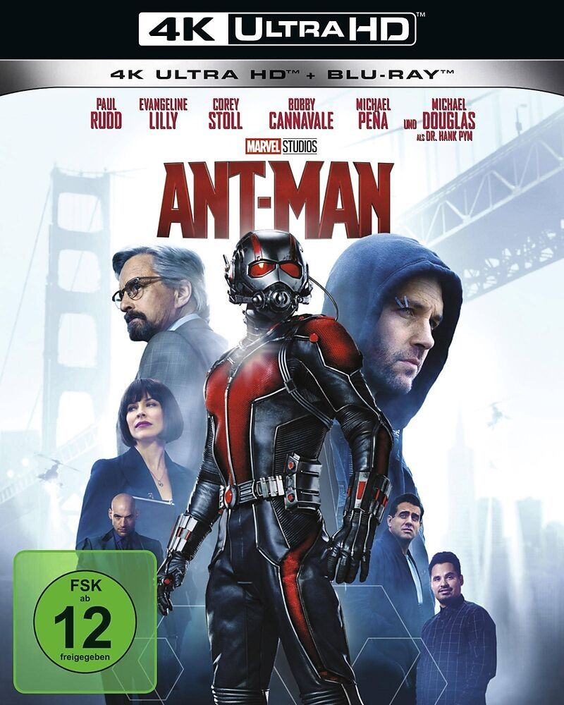 Ant-Man (2 Discs) (UHD BLURAY + BLURAY)