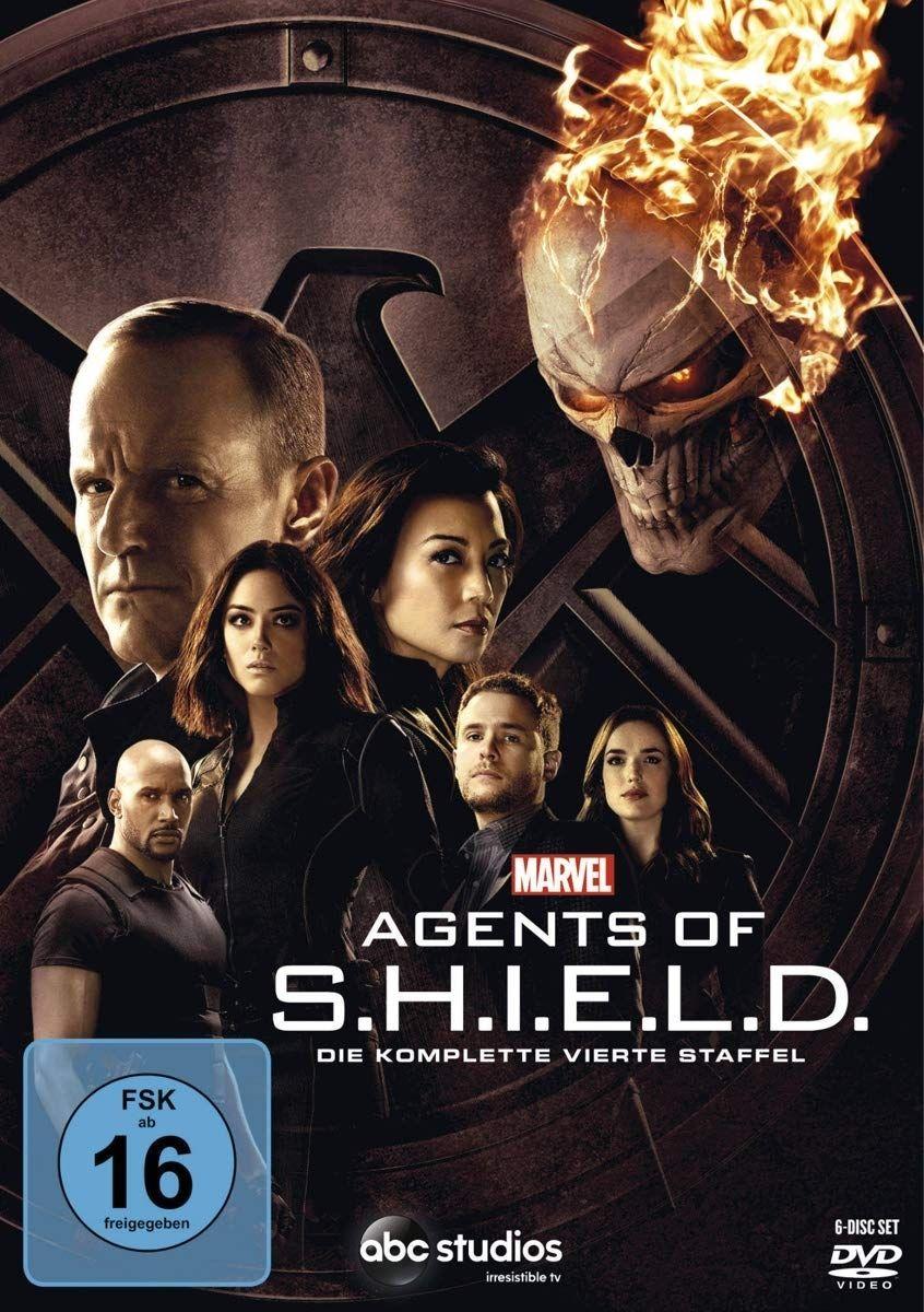 Marvel's Agents of S.H.I.E.L.D. - Die komplette vierte Staffel (6 Discs)