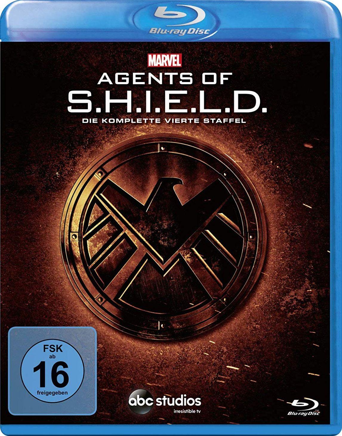Marvel's Agents of S.H.I.E.L.D. - Die komplette vierte Staffel (5 Discs) (BLURAY)