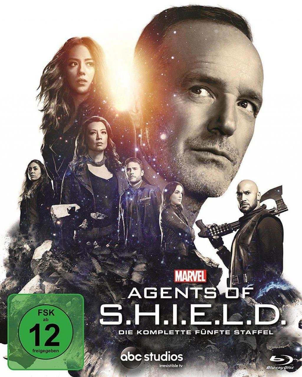 Marvel's Agents of S.H.I.E.L.D. - Die komplette fünfte Staffel (5 Discs) (BLURAY)