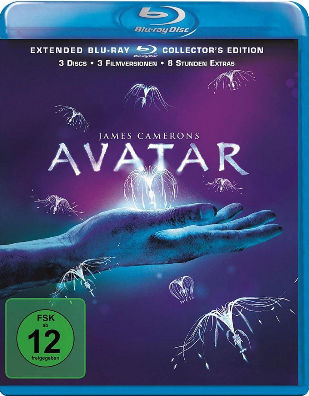 Avatar - Aufbruch nach Pandora (Extended Coll. Ed.) (Neuauflage) (3 Discs) (BLURAY)