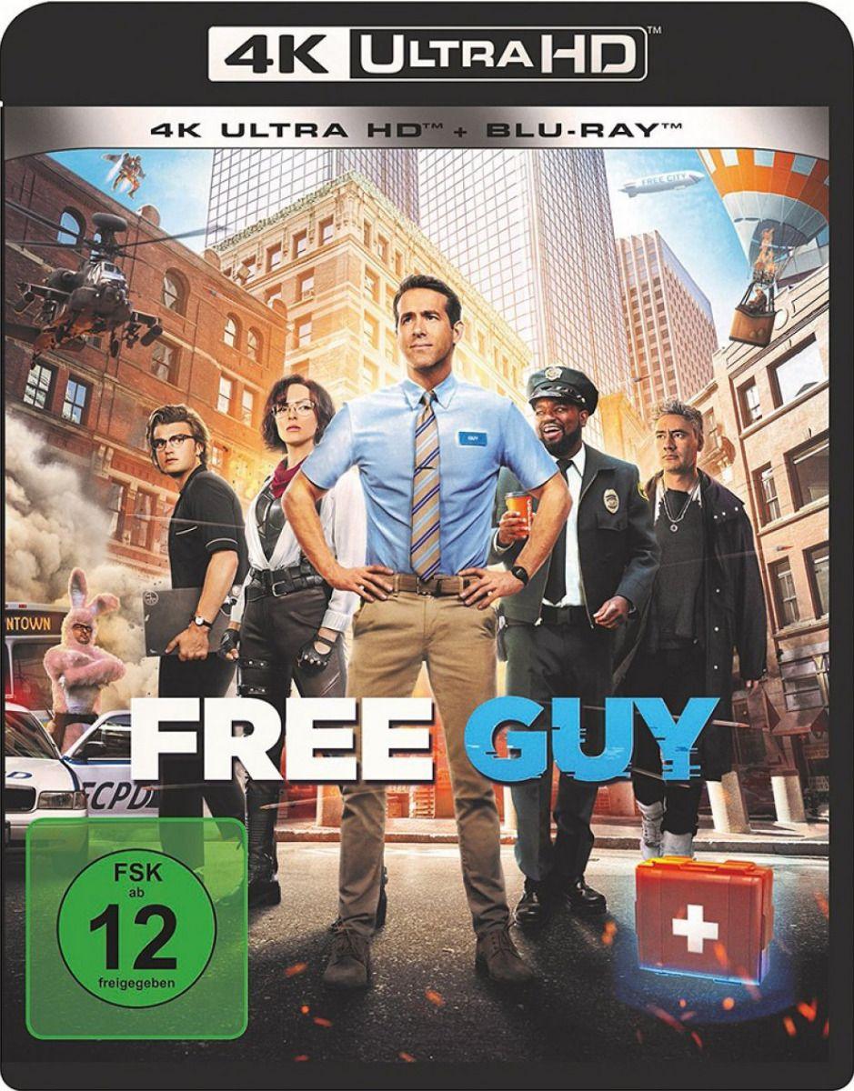 Free Guy (2 Discs) (UHD BLURAY + BLURAY)