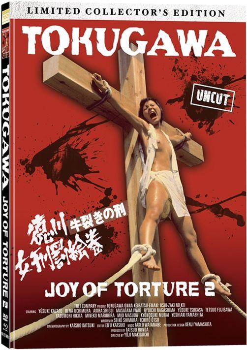Tokugawa - Joy Of Torture (Lim. Uncut Mediabook - Cover C) (DVD + BLURAY)