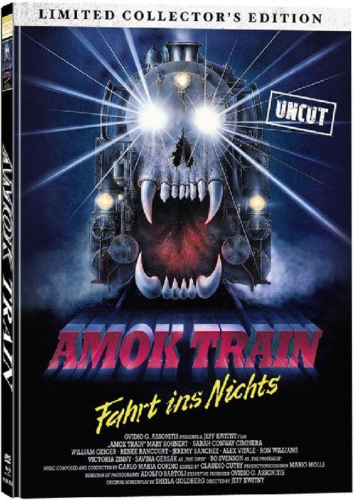 Amok Train (Lim. Uncut Coll. Edition - Cover C) (DVD + BLURAY)