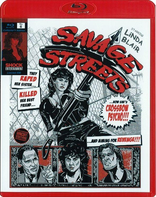 Savage Streets - Straße der Gewalt (Lim. Collector's Edition) (BLURAY)