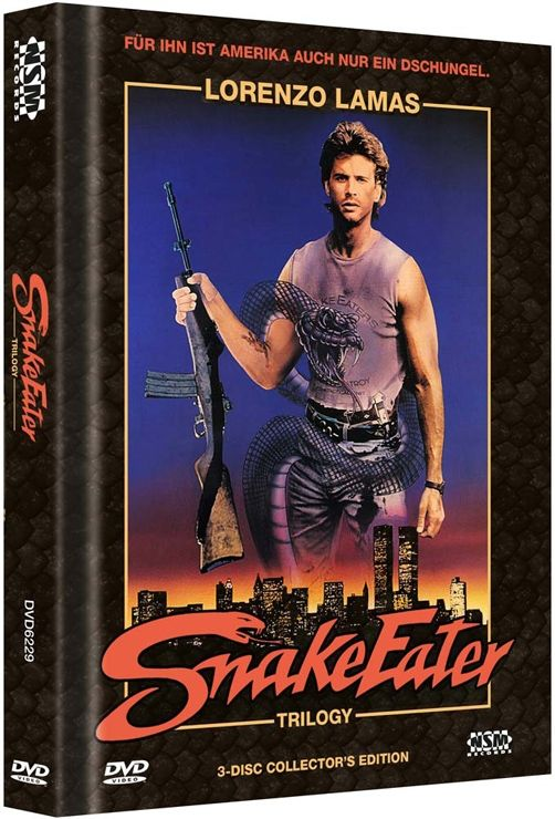 Snake Eater Trilogy (Lim. Uncut Mediabook)
