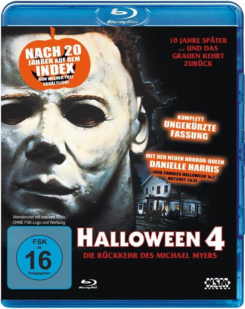 Halloween 4 (Uncut) (Neuauflage) (BLURAY)