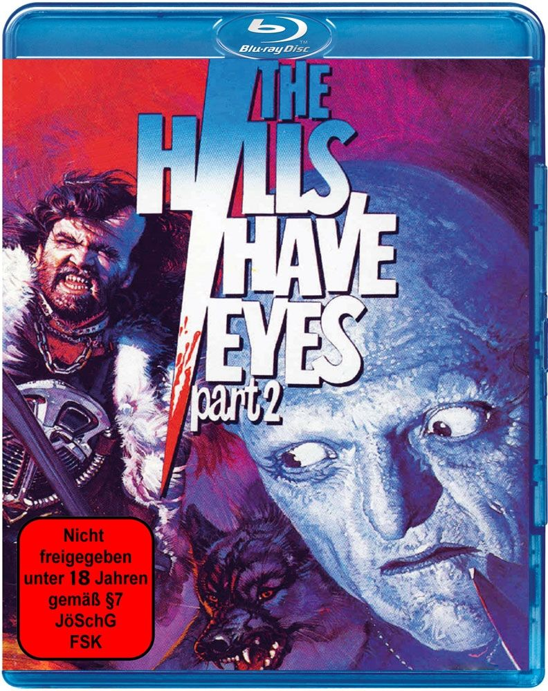 Hills have Eyes 2, The (1985) (Uncut) (BLURAY)