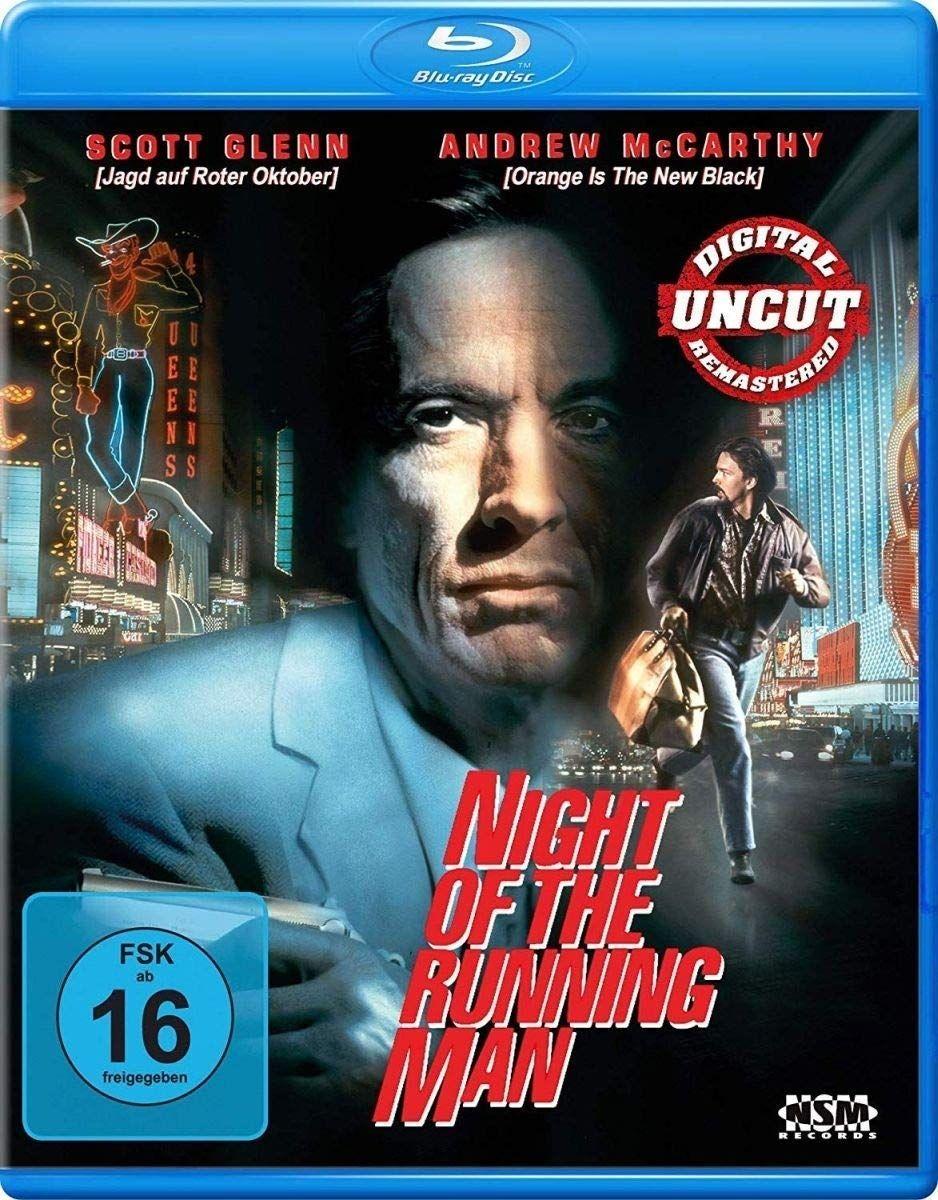 Night of the Running Man (BLURAY)