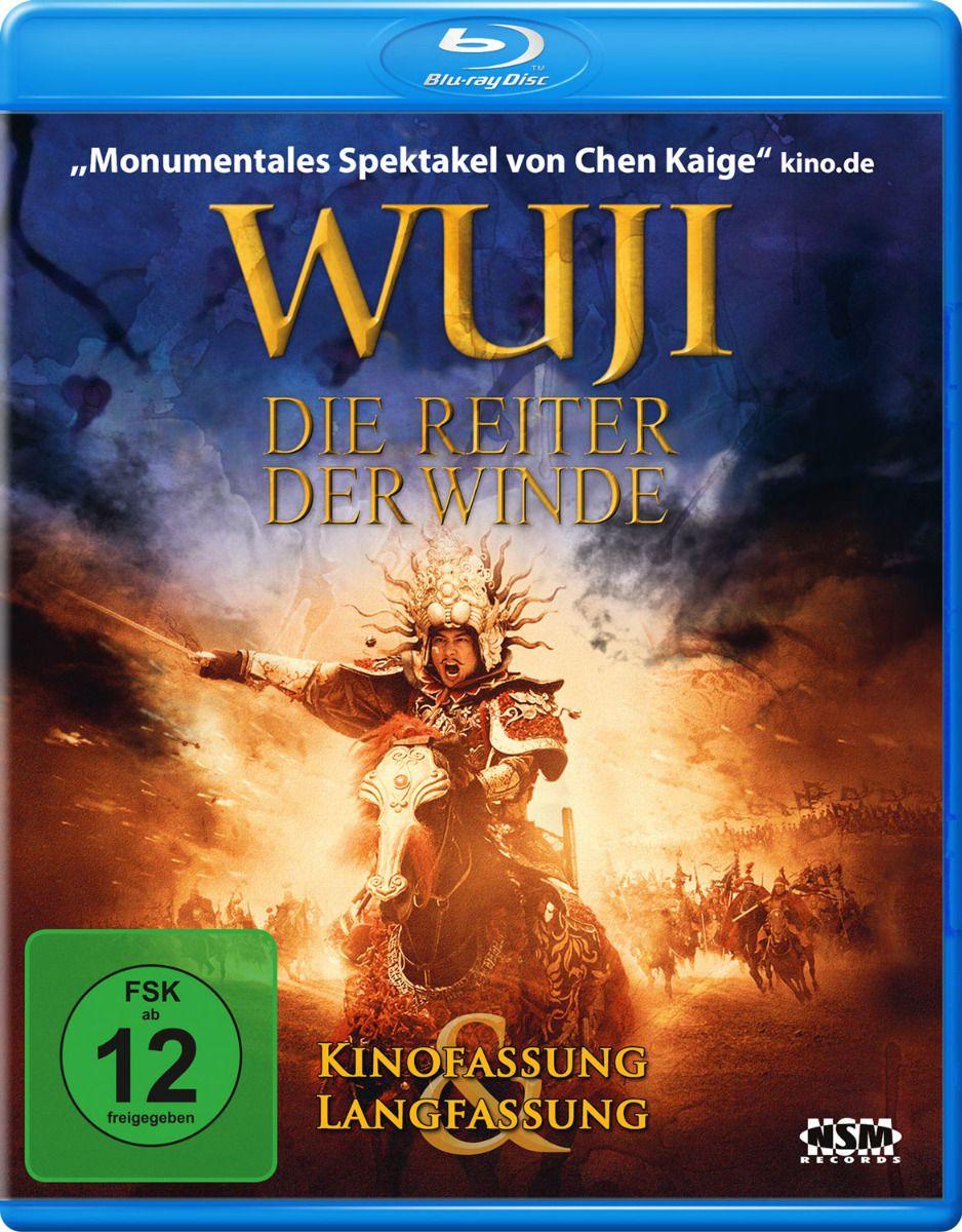 Wu Ji - Die Reiter der Winde (Kinofassung + Langfassung) (BLURAY)