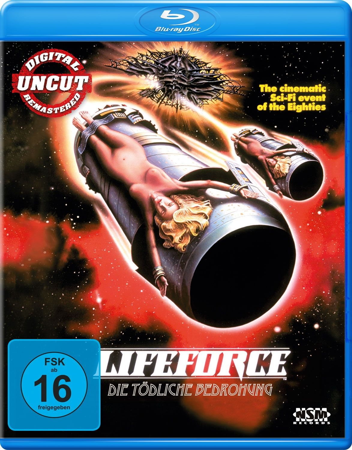 Lifeforce - Die tödliche Bedrohung (BLURAY)
