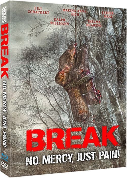 Break – No Mercy, just Pain (Lim. Uncut Mediabook - Cover D) (DVD + BLURAY)