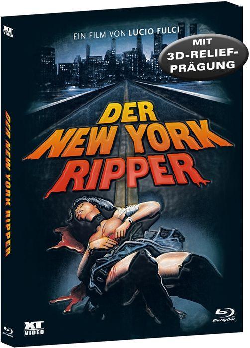 New York Ripper, Der (Uncut) (Schuber) (BLURAY)
