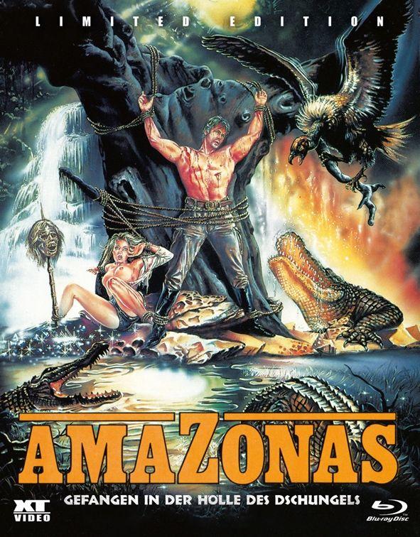 Amazonas - Gefangen in der Hölle des Dschungels (Lim. BD Hartbox) (BLURAY)