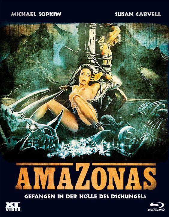 Amazonas - Gefangen in der Hölle des Dschungels (Lim. BD Hartbox - Cover B) (BLURAY)