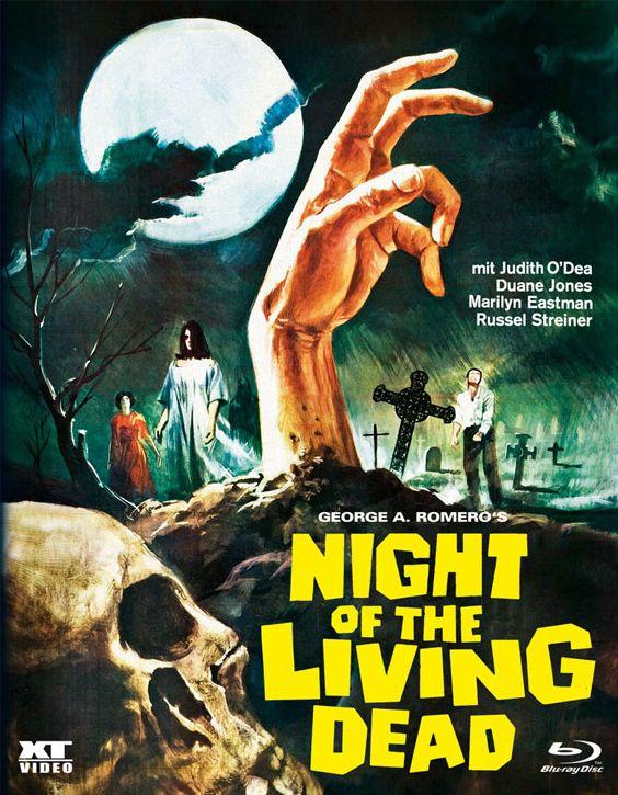 Night of the Living Dead (1968) (Lim. BD Hartbox) (BLURAY)