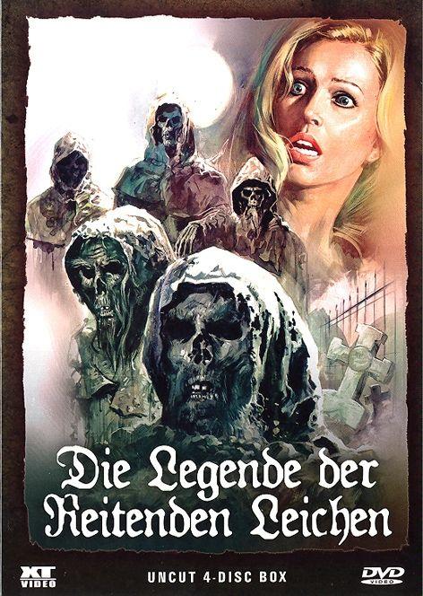 Legende der Reitenden Leichen, Die (Neuauflage) (4 Discs)