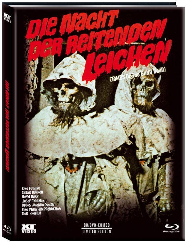 Nacht der reitenden Leichen, Die (Lim. Uncut Mediabook - Cover A) (DVD + BLURAY)