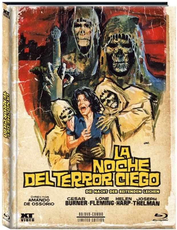 Nacht der reitenden Leichen, Die (Lim. Uncut Mediabook - Cover B) (DVD + BLURAY)