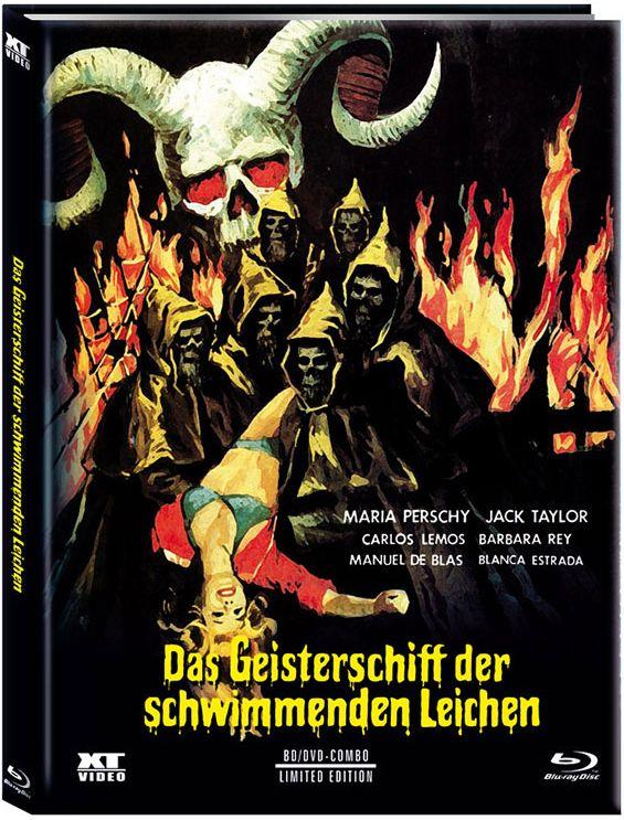 Geisterschiff der schwimmenden Leichen, Das (Lim. Uncut Mediabook - Cover B) (DVD + BLURAY)