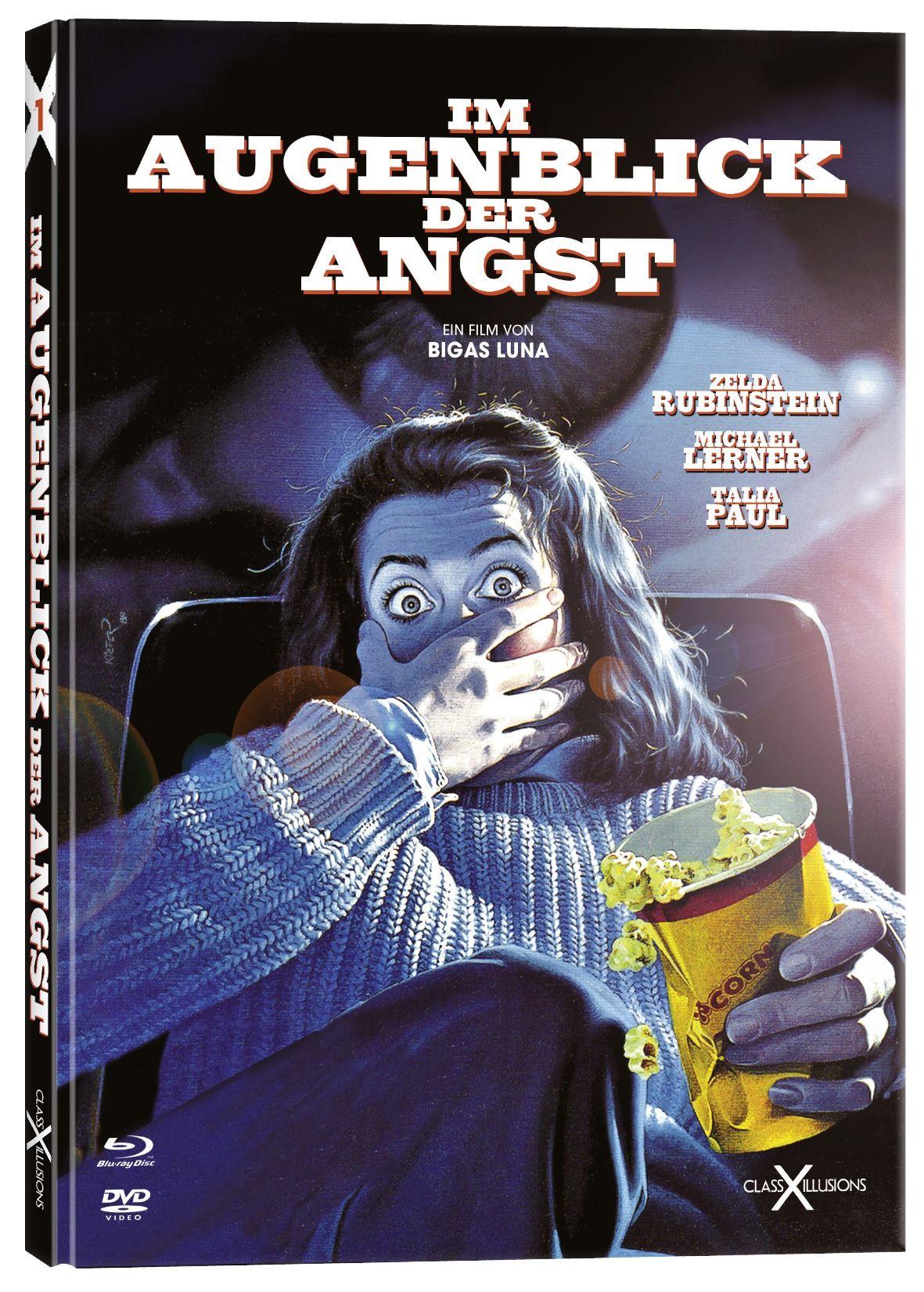 Im Augenblick der Angst (Lim. Uncut Mediabook) (DVD + BLURAY)
