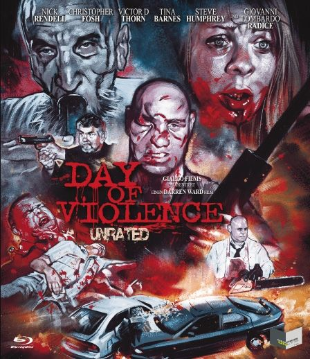 Day of Violence (Uncut) (BLURAY)