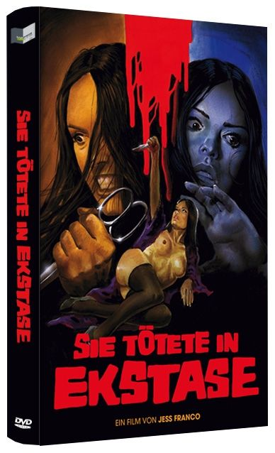 Sie tötete in Ekstase (Lim. gr. Hartbox - Cover B)