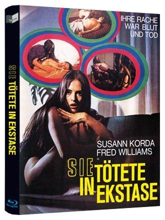 Sie tötete in Ekstase (Lim. BD Hartbox - Cover A) (BLURAY)