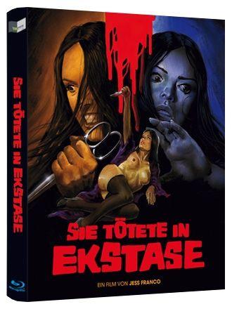 Sie tötete in Ekstase (Lim. BD Hartbox - Cover B) (BLURAY)