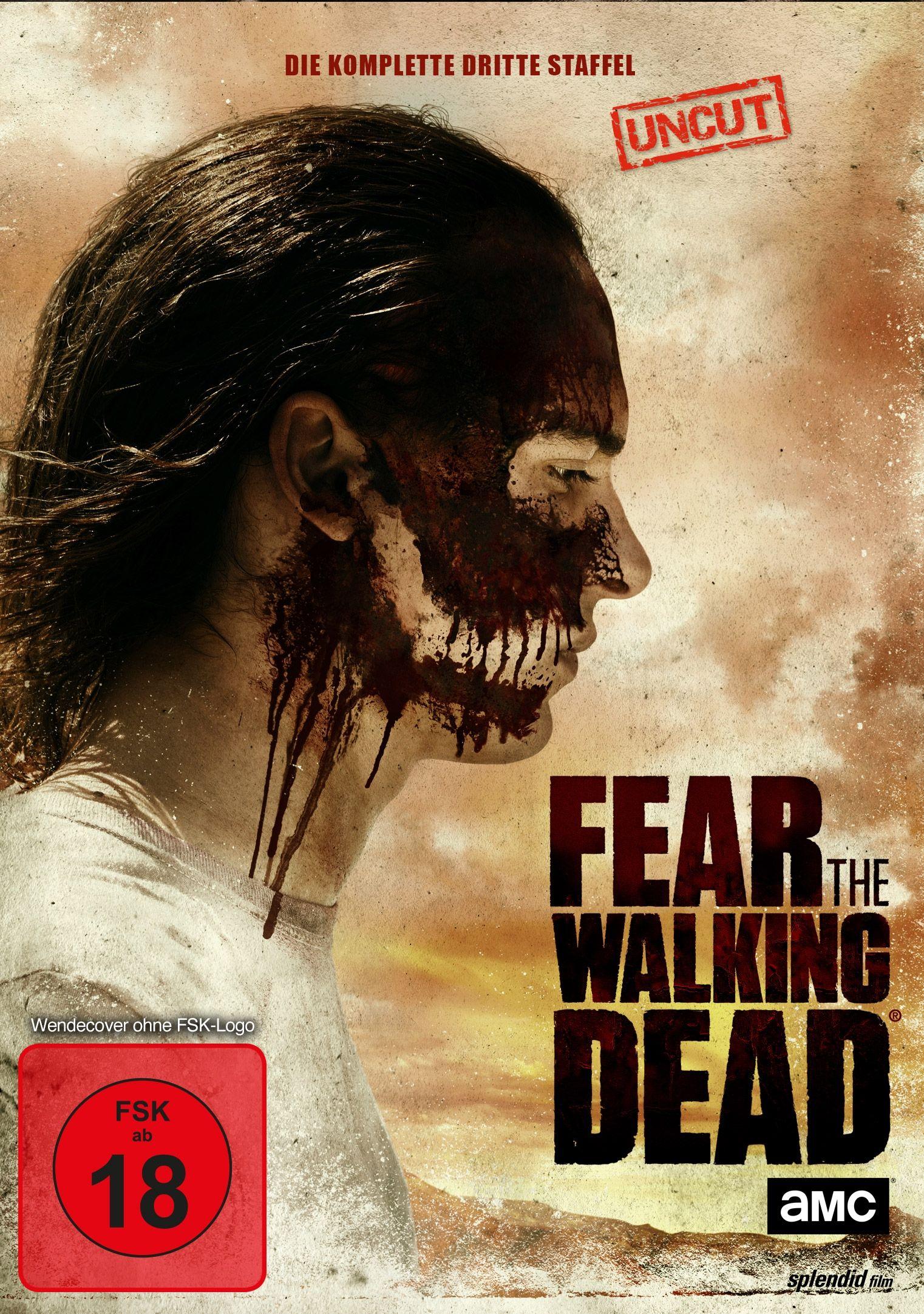 Fear the Walking Dead - Season 3 (Uncut) (4 Discs)