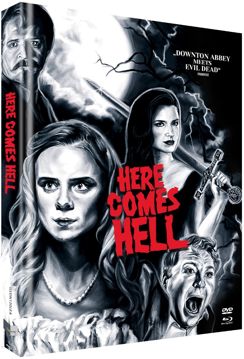 Here Comes Hell (Lim. Uncut Mediabook - Cover A) (DVD + BLURAY)
