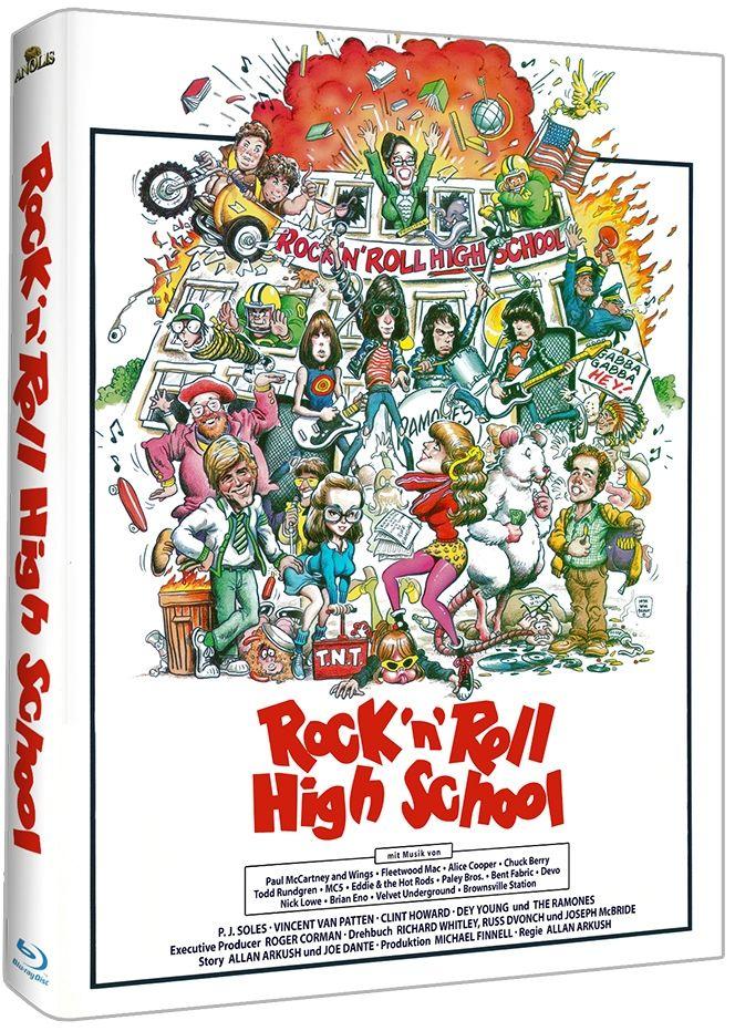 Rock 'n' Roll High School (Lim. Uncut Mediabook) (BLURAY)
