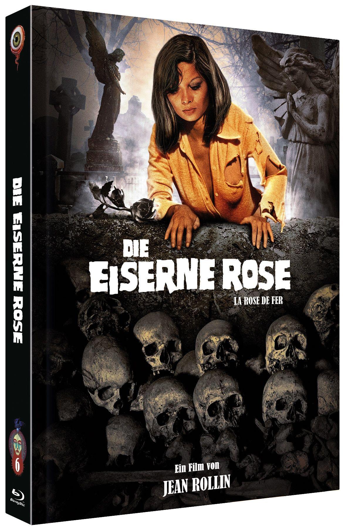 Eiserne Rose, Die (Lim. Uncut Mediabook - Cover A) (DVD + BLURAY)